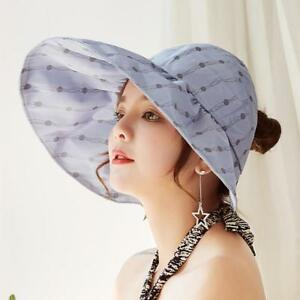 Women Summer Sun UV Protection Bow Sun Hats Best Quality Wide Large ... 778909405be