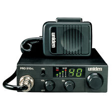 Uniden PRO510XL 40-Channel Compact Mobile CB Radio with 7W Audio Output