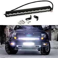 1x36W 4320LM Cree LED Spot Beam Light Bar Driving Fog Offroad Work Lamp SUV 13in