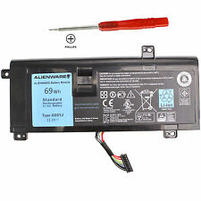 New Genuine 69WH Battery for Dell Alienware 14 A14 R4 M14X G05YJ Y3PN0 8X70T