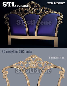 5 3D STL Models Dinner Table 136 for CNC Router Carving Machine Artcam aspire