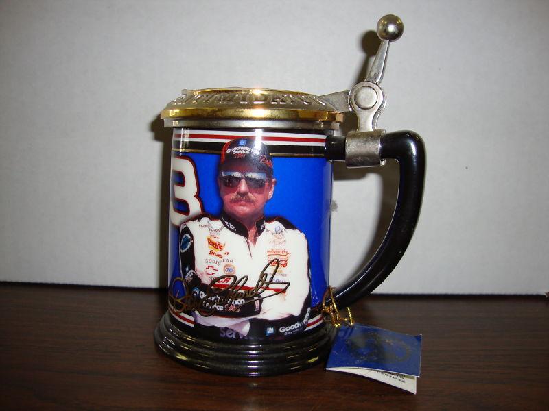 Dale Earnhardt - The Dale Earnhardt Collector Tankard--The Franklin Mint--COA