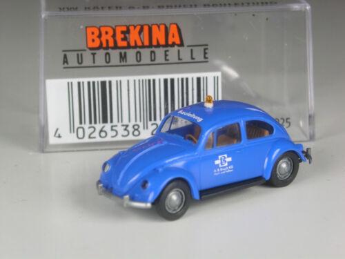 Brekina VW 1200 Käfer Bauleitung Firma A.B Bruch in OVP TOP
