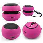 Mini Portable Bass Travel Speaker for iPod Nano iPhone 3GS 3G 4 MP3 MP4 Player