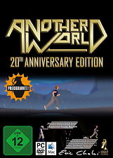 Another World - 20th Anniversary Edition (PC, 2014, DVD-Box) Neu