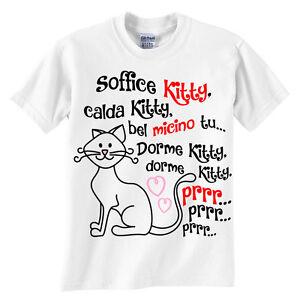 Sheldon! The Big Bang Theory Simpatica T-shirt bimbo e bimba Soffice Kitty