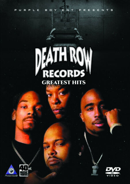 DEATHROW RECORDS MUSIC VIDEOS HIP HOP RAP DVD 2PAC DR  DRE SNOOP DOGG TUPAC  SUGE