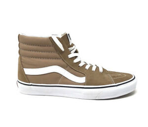025f3ce995f2 Vans Sk8 Hi Tiger s Eye White Men s 11 Tan Skate Shoes New Brown Hi ...