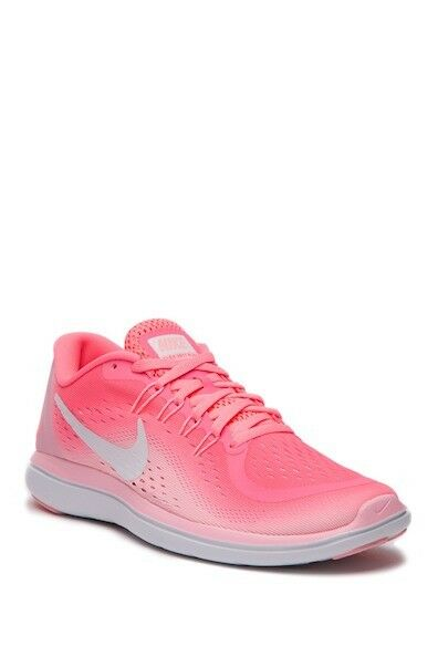 Nike Flex 2017 RN Pink Sunset Pulse Pulse Pulse Womens Running shoes Sneakers  New SIZE 7 a0220e