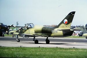4-337-2-Aero-L-39-Albatros-Czech-Air-Force-5015-Kodachrome-SLIDE