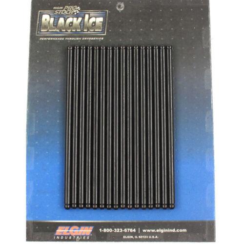 """Elgin Engine Push Rod ICE300537; Black Ice 5//16/"""" 7.800/"""" .075/"""" Wall Chromoly"""