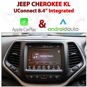 Details about Jeep Cherokee KL UConnect 8 4 Apple CarPlay Android Auto  Retrofit Kit