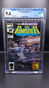 Punisher Limited Series #1 CGC 9.6 NM+ White pages! MCU Disney+ MARVEL!