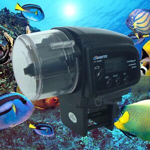 Autom tico lcd alimentador de peces comida temporizador de for Alimentador automatico peces