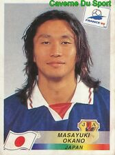 532 MASAYUKI OKANO JAPAN FIGURINE VIGNETTE STICKER WORLD CUP FRANCE 98 PANINI