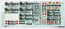 1/18 Waterslide Decal Minichamps diecast F1 Mclaren MP4/4 5 6 7 8 Senna Tobacco