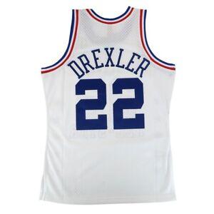 6f17ef52f Clyde Drexler 1989 NBA All Star West Mitchell   Ness Swingman White ...