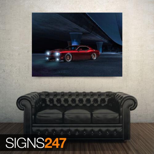 DODGE CHALLENGER AVANT Car Poster Photo Poster Print Art * All Sizes 9142