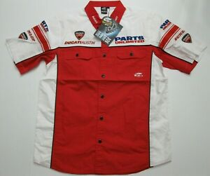 Ducati-Austin-Shirt-By-Arlenness-Size-Mens-Large-New-with-Tags