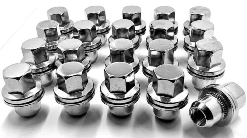 Land Rover Discovery 3 Range Rover Sport Solid Wheel Nuts Set of 20 Silver 20