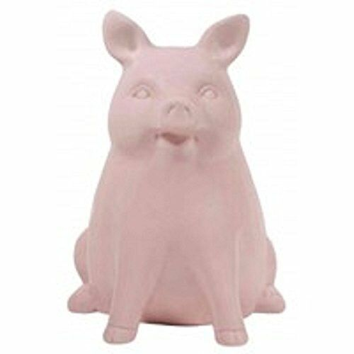A Streamline Pretty Pig Bank Realistic Still Piggy Banks Ceramic 9