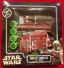 Star Wars BOBA FETT Gauntlet Blaster Disc Launcher Toy - Disney Parks Authentic!