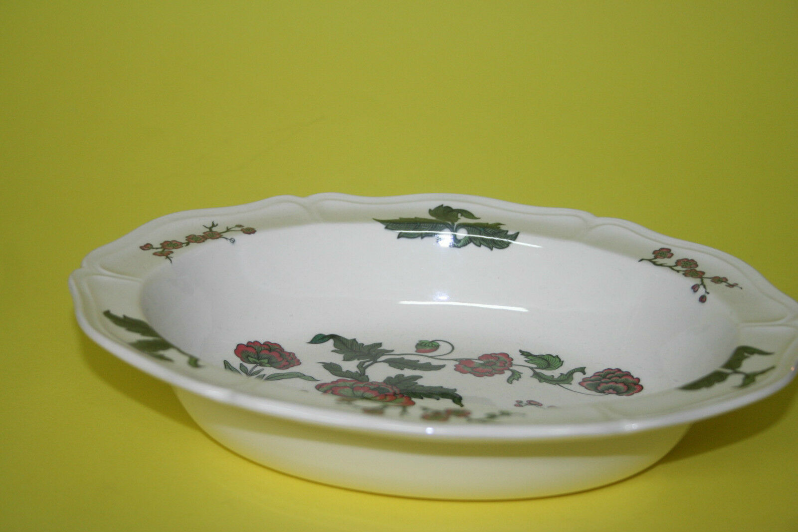 Servierschale, Gemüseschale oval 24 cm Wedgwood Mandarin     | Hochwertige Produkte