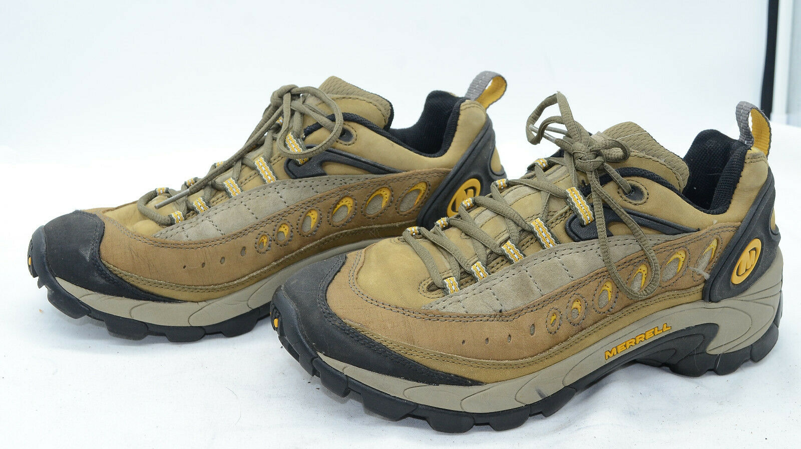 Merrell Pulse Sage Womens Sz 9 Leather Mountaineering Hiking Sports Sneakers