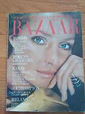 Vintage Harper's Bazaar July 1972 Hiro cover