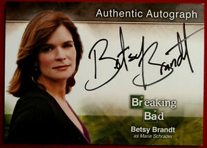 BREAKING BAD - BETSY BRANDT as Marie Schrader - AUTOGRAPH Card - A2 - Cryptozoic