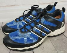 the latest 1774e 01c30 adidas Outdoor Mens Hiking Shoes Blue Black Lace Up Size 11 US