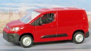 Blue 2018 CITROEN BERLINGO 1:64 Norev//Citroen Passenger Diecast Car Sealed