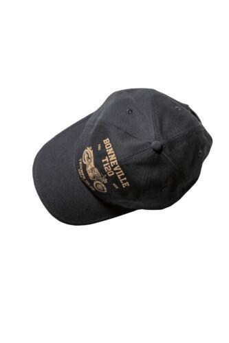 GENUINE Triumph Motorcycles Emmett Black Baseball Cap NEW 2019