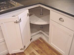 Image Is Loading FACE FRAME FRAMELESS CABINET LAZY SUSAN HARDWARE COMBO