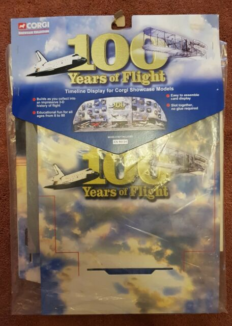 Corgi - CS 90154 100 Years of Flight Showcase Timeline Display