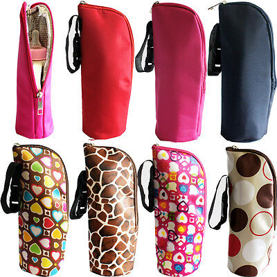 Baby Insulated Bottle Bag Thermal Feeding Bottle Warmers Mummy Tote Bag for Protection and Insulation Easy to Carry