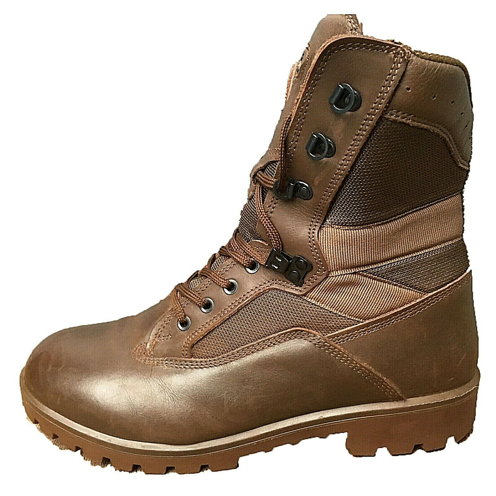 YDS Kestrel Brown BRITISH ARMY Boots MTP Surplus Issue Leather Combat Military