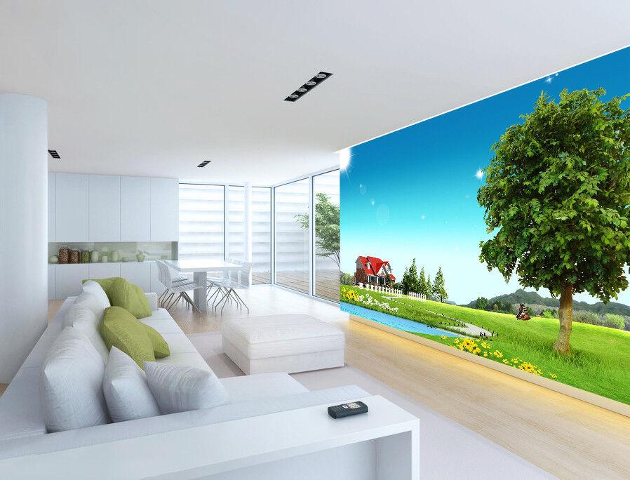 3D Natur Landschaft 983 Tapete Wandgemälde Tapeten Bild Familie DE Jenny