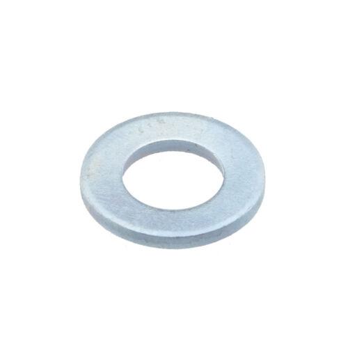 verzinkt ohne Fase Produktklasse A Flache Scheiben ISO 7089 Stahl 200 HV galv