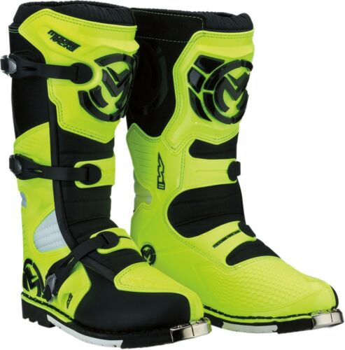 Hi Viz MX Sole Size 10 Moose 3410-1982 M1.3 Dirt Bike Boots