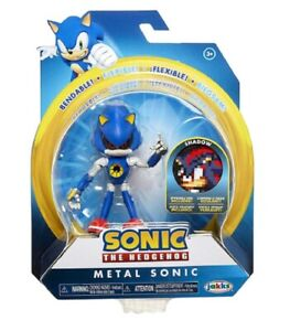 Action-Figure-Sonic-the-Hedgehog-Metal-Sonic-4-Inch-Wave-2
