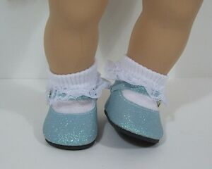 """LT PINK Baby or Toddler Doll Shoes For 15/"""" Bitty Baby Girl Twin Debs"""