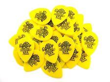 Dunlop 423r.73 Tortex Yellow Small Tear Drop .73mm Guitar Picks 36 Count 423R73