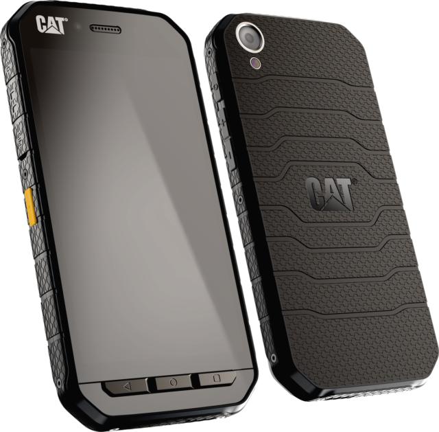 CAT S41 32GB Schwarz 12,7 cm (5 Zoll) NFC 13MP Dual-SIM IP68 Android 7.0 NEU OVP