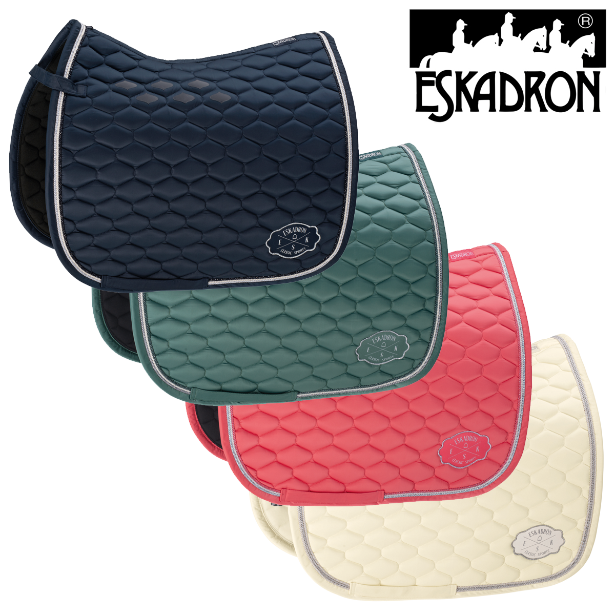 Eskadron Glossy Emblem Saddlecloth (Classic Sports Ltd. SS19) FREE UK Shipping