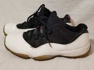 c8b46c7366b Air Jordan 11 Retro Low Tuxedo White Black XI's Size 10 2013' 528895 ...