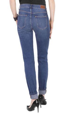 Slim Denim pour Ulta Authentic Wrangler Blue Jeans femmes High Flex 6gB5w