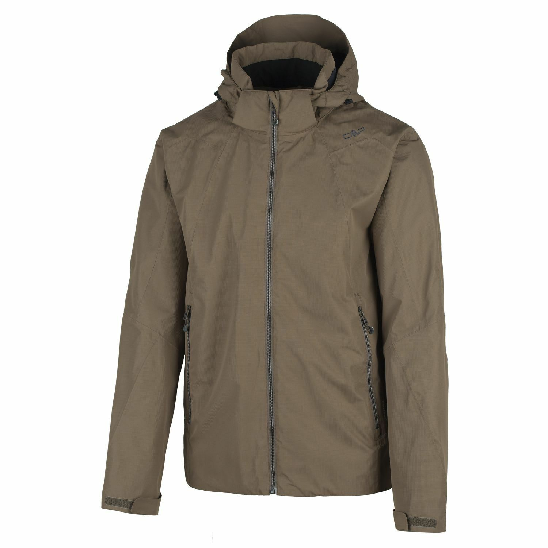Función CMP chaqueta vellón clima chaqueta marrón WP 5.000mm capucha