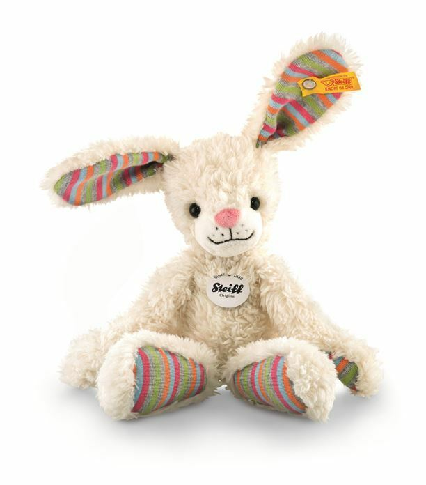 Steiff 080289  Happy Rabbit  Soft Toy