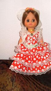 poupée espagnole flamenco 26 cm